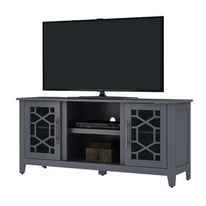 """Jennings 54"""" TV Stand with Optional Fireplace"""