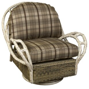 River Run Butterfly Swivel Patio Chair with Cushion