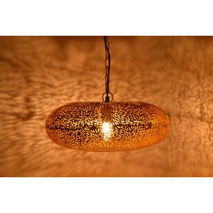 Moroccan pendant lighting wayfair moroccan 1 light geometric pendant aloadofball Gallery