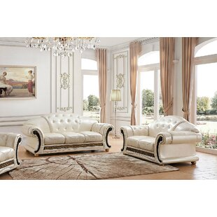Astoria Grand Kayla 2 Piece Living Room Set