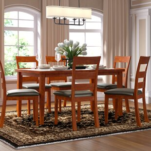 Amiyr 7 Piece Dining Set Red Barrel Studio