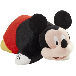 Disney Mickey Mouse Plush Chenille Throw Pillow
