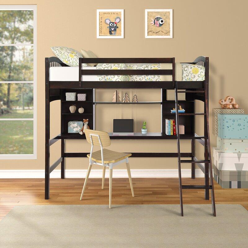 Harriet Bee Stoutland Twin Loft Bed Reviews Wayfair