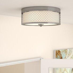 Darby Home Co Lofton 3-Light Flush Mount