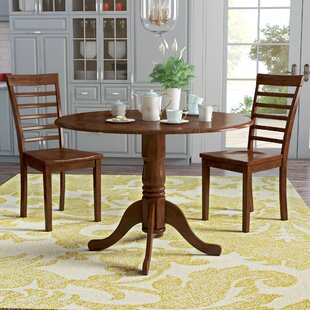 August Grove Spruill 3 Piece Dining Set
