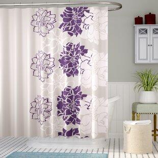 Dark Purple Shower Curtain
