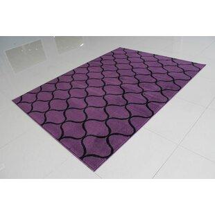 Look for Purple/Black Area Rug ByRug Tycoon