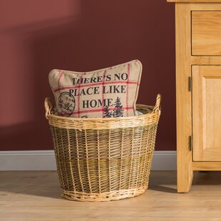 Tenleytown Willow Log Carrier By Union Rustic