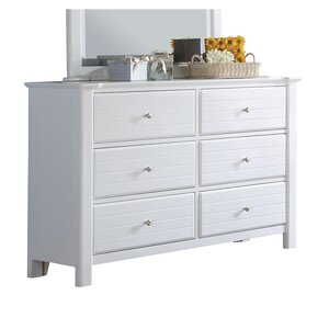 Saylor 6 Drawer Double Dresser