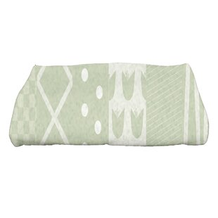 Monroe Pattern Stripe Bath Towel