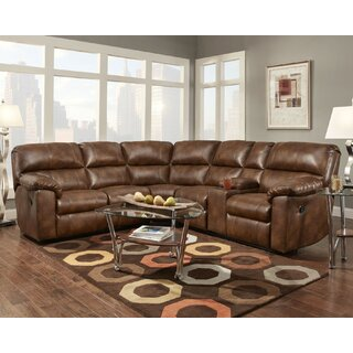 Ankrum Left Hand Facing Reclining Sectional by Darby Home Co SKU:EB975403 Description