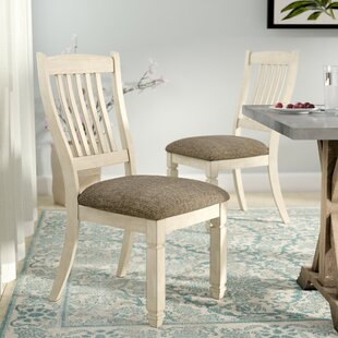Lark Manor Alsace Upholstered Dining Chair (Set of 2)