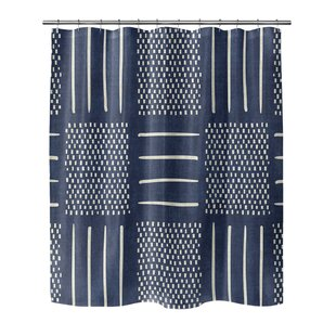 Couturier Geometric Shower Curtain