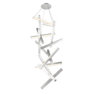 Modern Forms Chaos 15-Light LED Geometric Chandelier