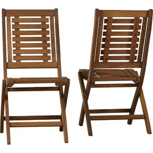 Roseland Folding Patio Side Chair (Set of 2)
