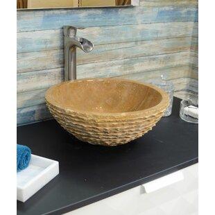 Shopping for Stone Circular Vessel Bathroom Sink ByOnyx Marble Designs