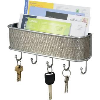 Caroline S Treasures Labradors In The Snow Wall Key Organizer With Key Hooks Wayfair