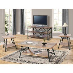 Czarnecki 4 Piece Coffee Table Set
