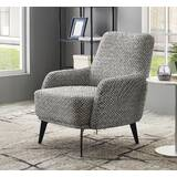 Cumbria Herringbone Fabric Armchair by Ivy Bronx
