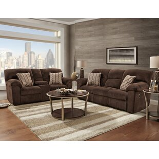 Red Barrel Studio Litherland Reclining 2 Piece Living Room Set