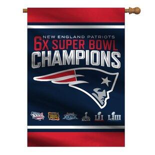 One Size Green NFL New England Patriots Camo Car Flag