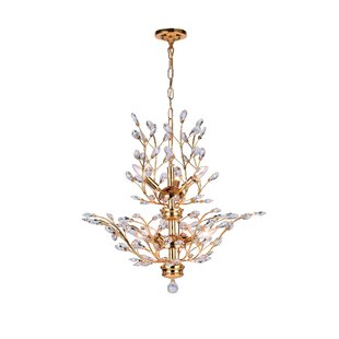 CWI Lighting 8-Light Candle Style Chandelier