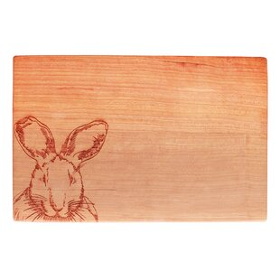 March Hare Cherry Wood Cutting Board
