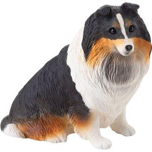 Shetland Sheepdog Statue Wayfair