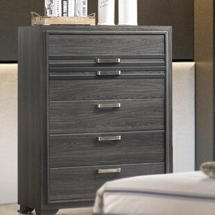 Jiminez Wooden 5 Drawer Chest