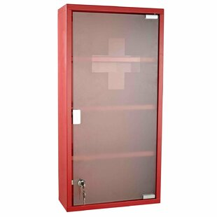 Rosette 30cm X 60cm Surface Mount Flat Medicine Cabinet By 17 Stories