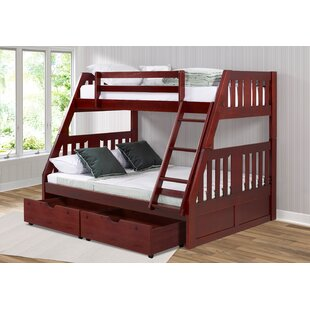 Dubbo Twin Over Full Bunk Bed with Drawer