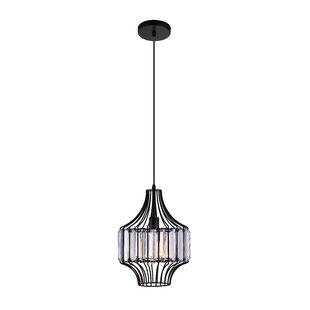 CWI Lighting 1-Light Geometric Pendant
