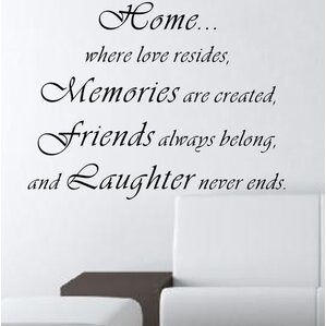 Where Love Resides Wall Decal Part 63