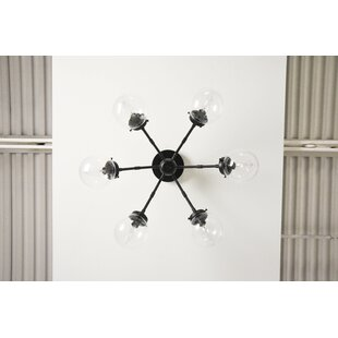 George Oliver Ruben 6-Light Semi Flush Mount