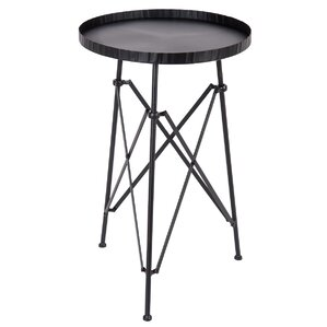 Teressa Snare Drum Tray Table by Williston Forge