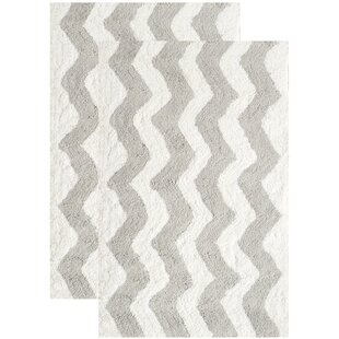 Marla Hand-Tufted Pearl Gray Area Rug (Set of 2) By Viv + Rae