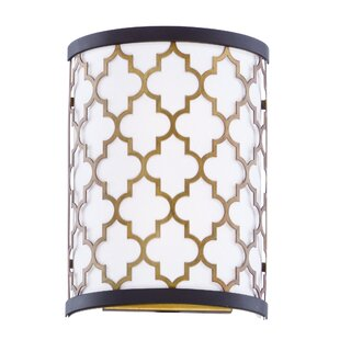Lanning 1-Light LED Flush Mount by Everly Quinn