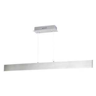 Eckhart Linear 1-Light LED Kitchen Island Pendant by Orren Ellis