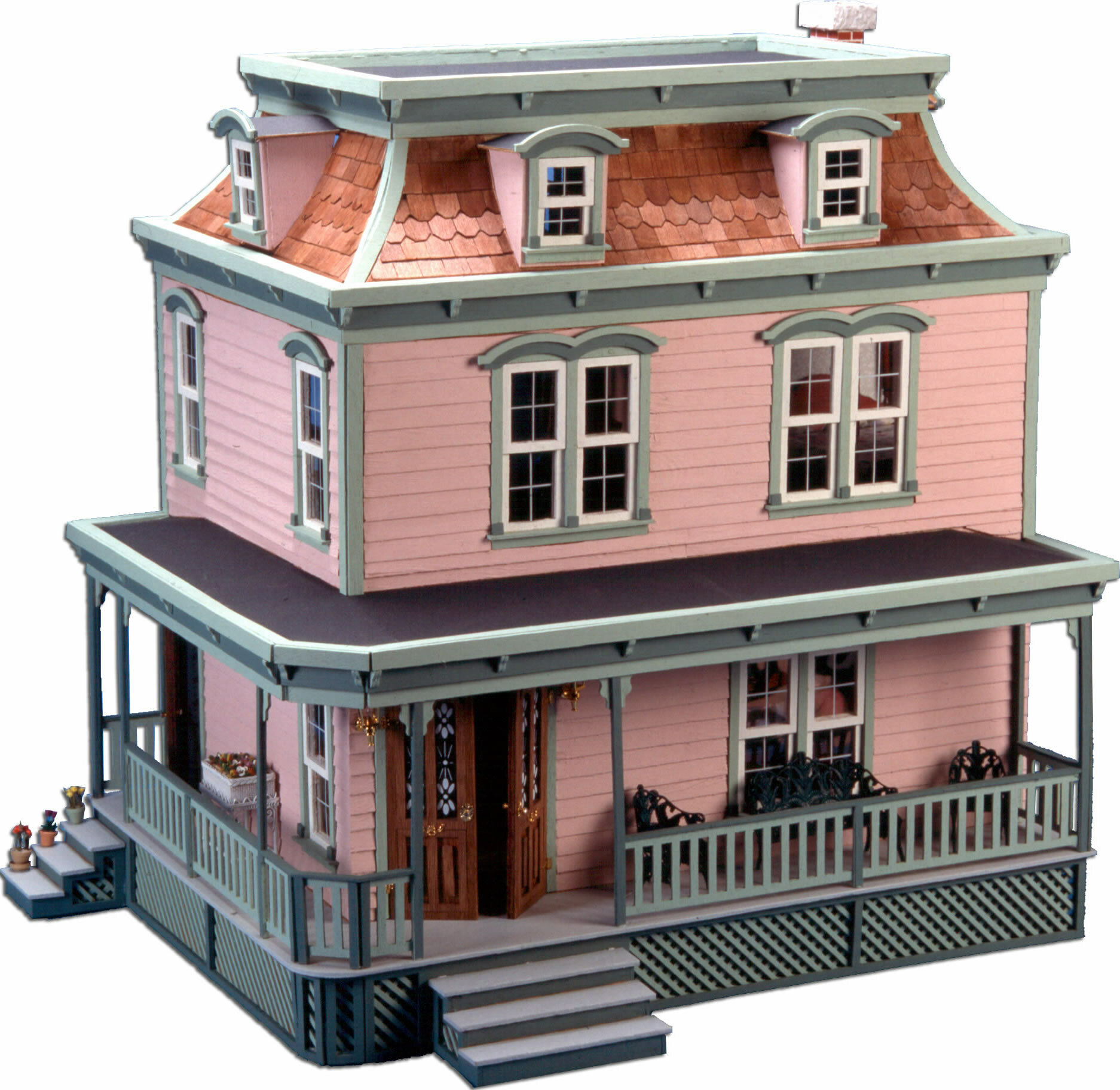 Greenleaf Dollhouses Lily Dollhouse Reviews Wayfair