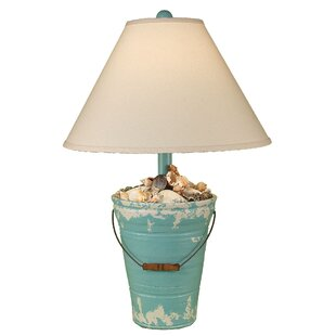 Coast Lamp Mfg. Coastal Living Bucket of Shells 27.5