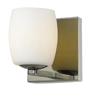Rome 1-Light Bath Sconce by Ebern Designs