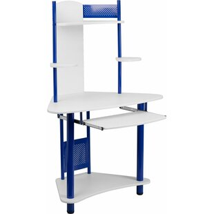 Top Reviews Huguenot Corner Computer Desk with Hutch ByZoomie Kids