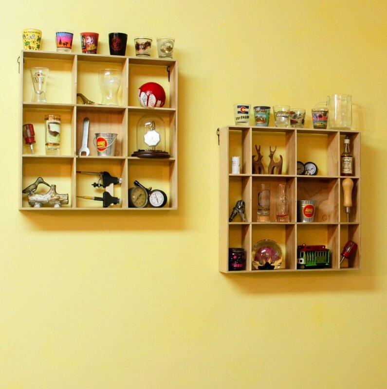 Red Barrel Studio Hogu Shadow Box 1 Panel Wall Shelf & Reviews   Wayfair