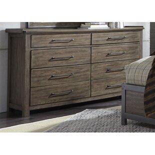 Claybrooks 8 Drawer Double Dresser by Gracie Oaks