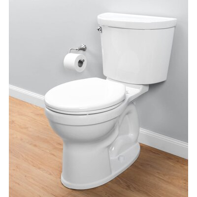 Champion Pro Right Height Rough-In 1.28 GPF Round Two-Piece Toilet (Seat Included) American Standard