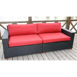 Bay Isle Home Scholtz Deep Seating Sofa with Cushions