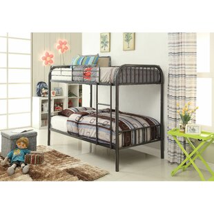 Compare & Buy Laffey Twin Over Twin Bunk Bed by Zoomie Kids Reviews (2019) & Buyer's Guide