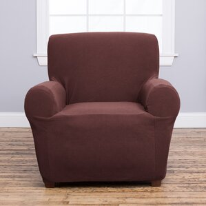 Cambria Box Cushion Armchair Slipcover by Home Fashion Designs