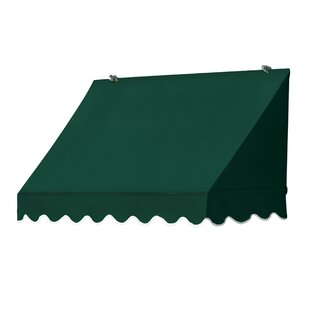 Awnings in a Box� Traditional 4 ft. W x 4 ft. D Awning Replacement Cover by IDM Worldwide