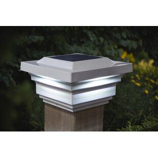 Regal 1-Light LED Solar Post Cap